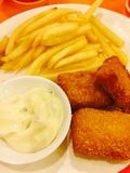 Fish&Chips lizenzfreies stockfoto