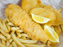 Fish and Chips Stock Photography