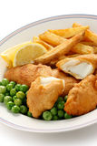 Fish and chips, british food Stock Image