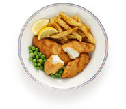 Fish and chips, british food Stock Photos