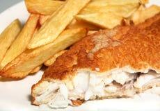 Fish and chips horizontal Stock Photo
