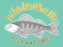 Fish and chips 2 Royalty Free Stock Images