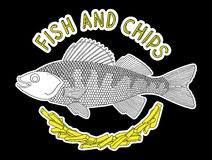 Fish and chips 3 Royalty Free Stock Photos