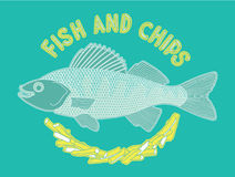 Fish and chips 6 Royalty Free Stock Image