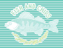Fish and chips 7 Royalty Free Stock Photography