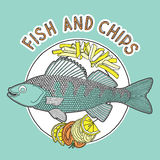 Fish and chips 2 Stock Photography