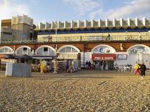 Fish & chips shop - Brighton Beach Royalty Free Stock Photos