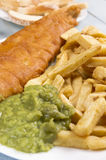 Fish and chips Royalty Free Stock Image