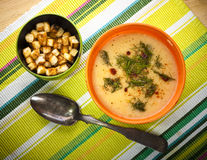 Fish chowder Stock Photography