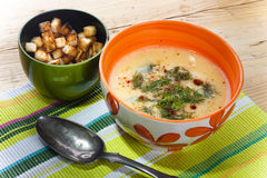 Fish chowder Stock Images