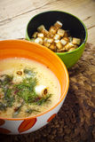 Fish chowder Royalty Free Stock Image