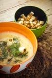 Fish chowder Royalty Free Stock Image