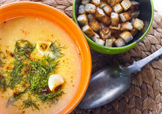 Fish chowder Royalty Free Stock Photography