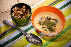 Fish chowder Royalty Free Stock Photos