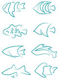 Fish Clip Art Royalty Free Stock Images
