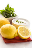Fish Condiments Stock Photos