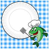 Fish Cookout Invitation Royalty Free Stock Photos