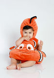 Fish costume Stock Photos