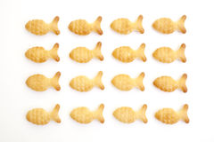 Fish crackers Royalty Free Stock Photos