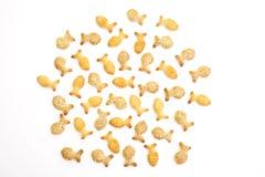Fish crackers Stock Photo
