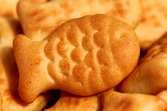 Fish crackers Stock Photography