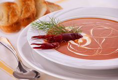 Fish Cream Soup Royalty Free Stock Photos