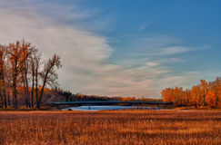 Fish Creek Park Landscape Royalty Free Stock Photography