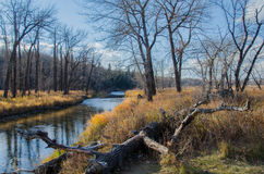 Fish Creek Provincial Park. Fish Creek Park is a provincial park located in the southern part of Calgary, Alberta, Canada. It is the second largest urban park in Royalty Free Stock Photography