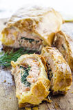 Fish in a crispy dough Stock Photo