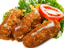 Fish Croquettes Stock Images
