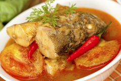 Fish Curry Stock Photo