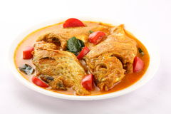 Fish curry from Asian cuisine. Stock Photos