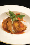 Fish Curry with Coconutmilk Royalty Free Stock Photography
