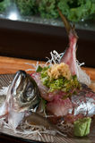 Fish cut for sushi Royalty Free Stock Image
