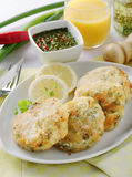 Fish cutlets Stock Photography