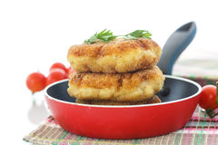 Fish cutlets Royalty Free Stock Photos