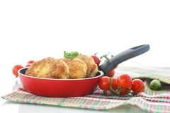 Fish cutlets Stock Image