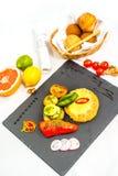 Fish cutlets Stock Photos