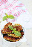 Fish cutlets, top view Royalty Free Stock Photography