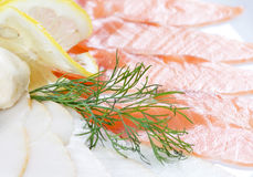 Fish cuts Royalty Free Stock Images
