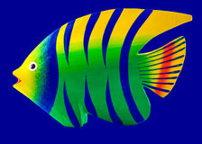 Fish decoration Stock Photography