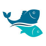 Fish design abstract. For vector Royalty Free Stock Photos