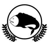 Fish design. Over white background,vector illustration Stock Photo