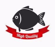 Fish design. Over white background, vector illustration Stock Photo