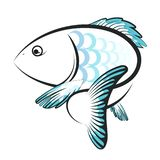 Fish design vector royalty free illustration