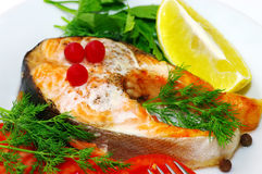 Fish dish Royalty Free Stock Photography