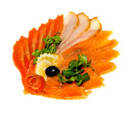 Fish dish Royalty Free Stock Image