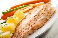Fish dish Stock Photos