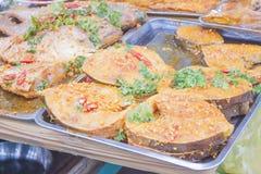 Fish dish Royalty Free Stock Images