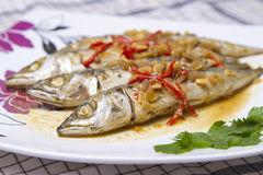 Fish dishes Stock Photography